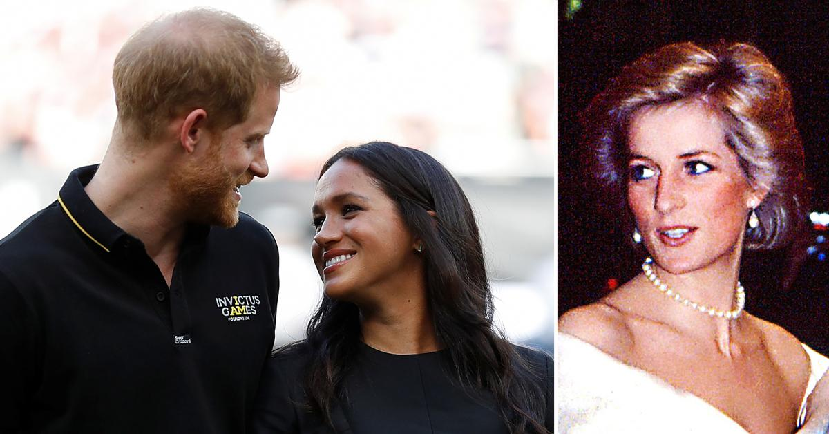 Meghan Markle & Prince Harry Follow In Princess Diana's Footsteps With Valentine's Day Pregnancy News — How The Late Icon Announced Harry