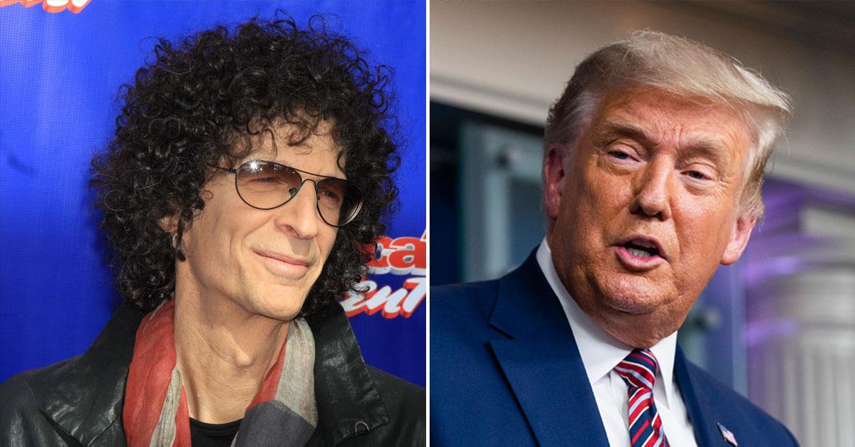 SiriusXM Host Howard Stern Slams President Trump For 'Criminal Behavior'
