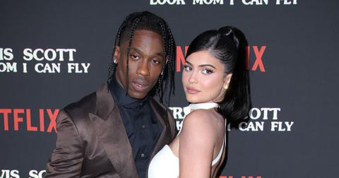 Travis Scott And Kylie Jenner At His Documentary Premiere Mistress Speaks Out Shades