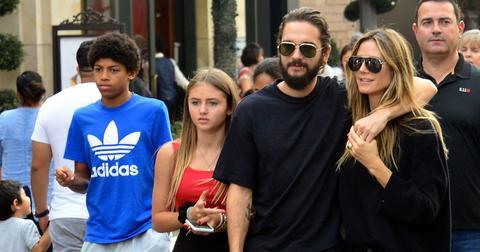 Heidi Klum Tom Kaulitz kids