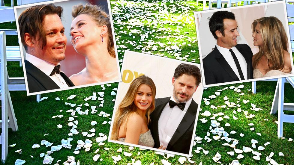 celebrity marriages 2015