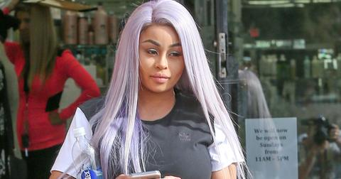 Blac Chyna steps out after giving birth to Dream