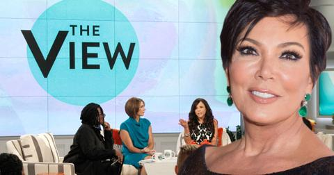 Kris jenner rumored to take over the view