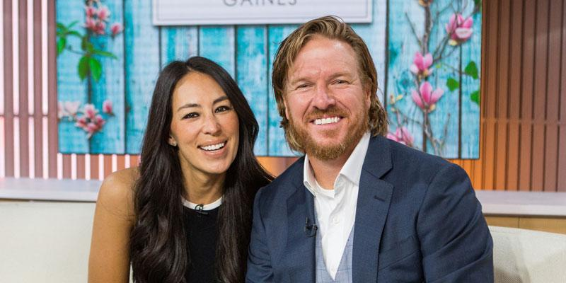 Chip and Joanna Gaines son