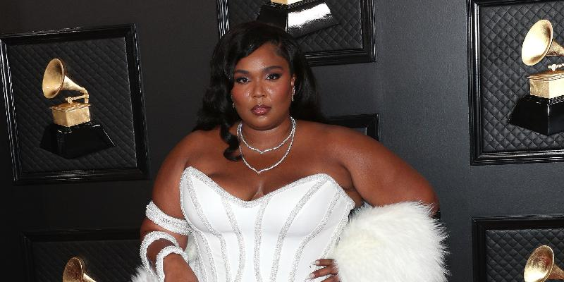 Lizzo at the 62nd Annual Grammy Awards