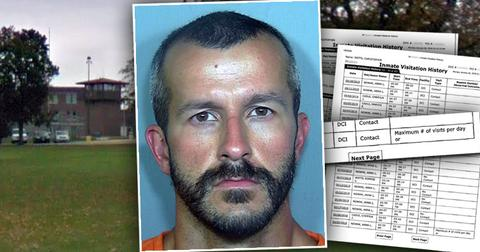 Murderer Chris Watts Prison Visitor list