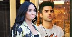 Demi Lovato Says 'Life Is Hard,' While Max Ehrich Calls Breakup PR Stunt
