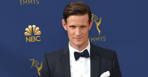 Matt Smith Wearing a Tuxedo on the Red Carpet
