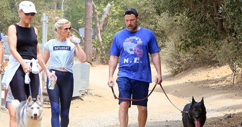 Lindsay shookus ben affleck take hike jennifer garner tribute main