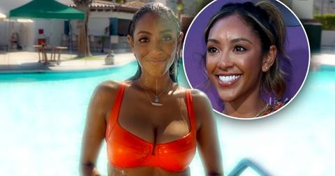 Tayshia Adams Makes Appearance On 'Bachelorette' For First Time: Watch