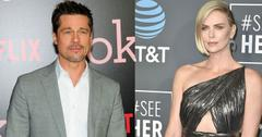 Brad pitt charlize theron post pic