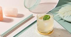 cointreau cocktail garden basil margarita