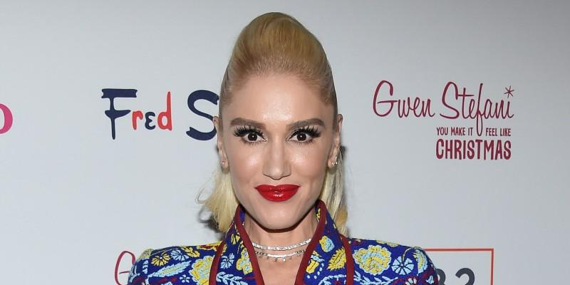 Gwen Stefani Wearing Colorful Outfit