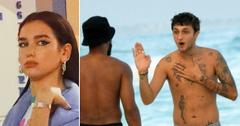 Anwar Hadid Hits Beach Without Dua Lipa