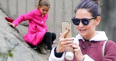 Suri cruise date katie holmes new york city park 04