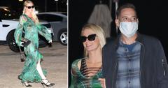 paris hilton carter reum dine at nobu malibu