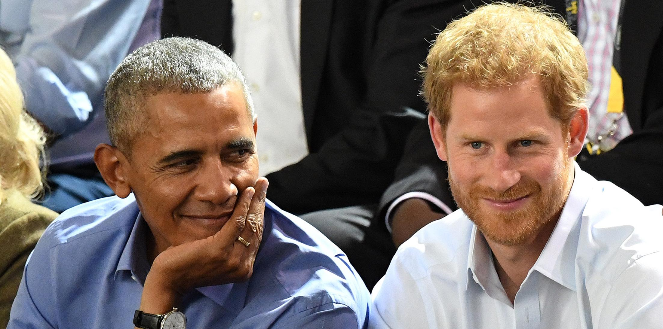 Prince Harry and Barack Obama attend the Invictus Games Wheelchair Basketball