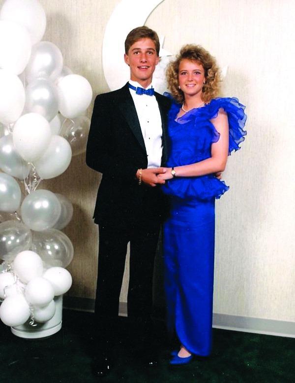 Matthew McConaughey's prom picture