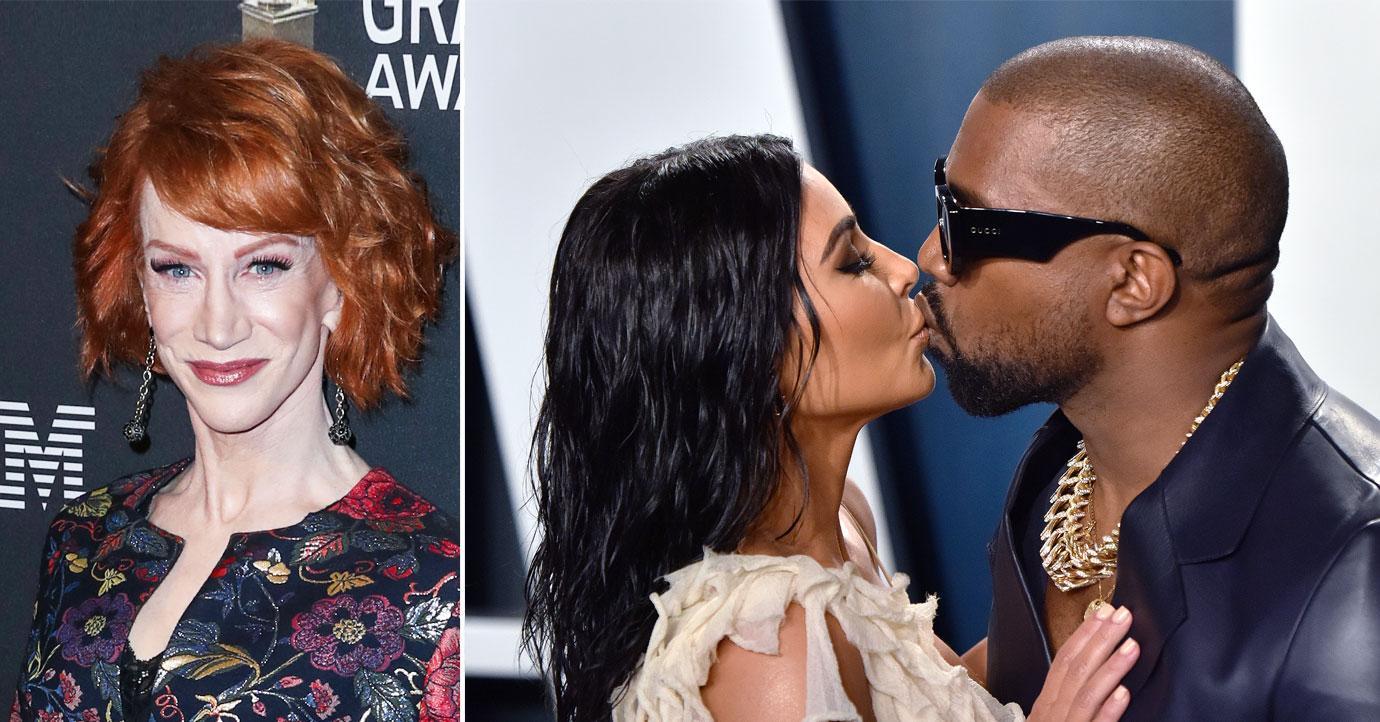 Kathy Griffin Believes Kim Kardashian Tried Everything To Make Marriage To Kanye West Work