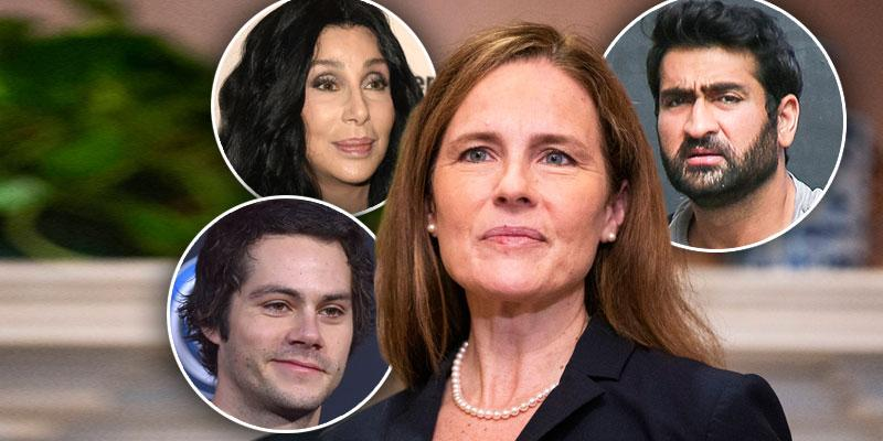 See Celebs Respond To Amy Coney Barret Supreme Court Confirmation