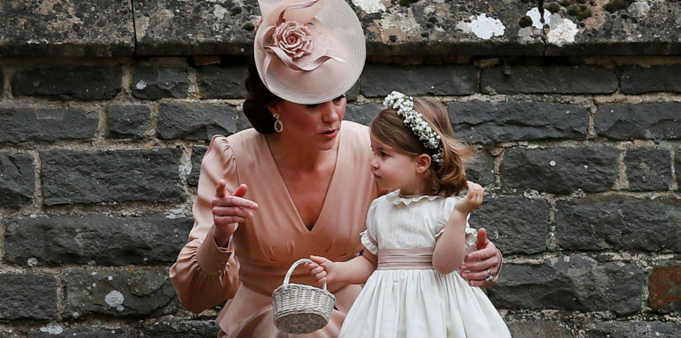 Prince george princess charlotte pippa middleton wedding photos h