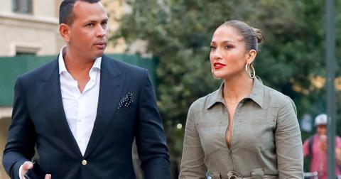 Alex rodriguez can't stand hunky male attention jennifer lopez receives wide