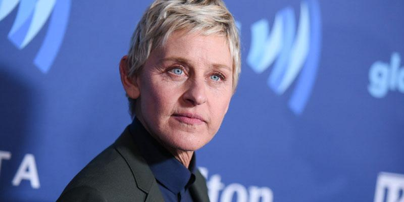 ellen degeneres hair dye post pic