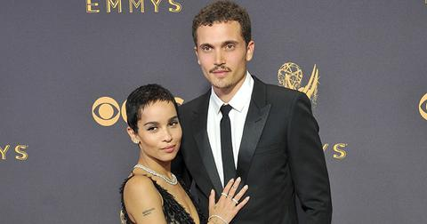 Zoe kravitz engaged karl glusman main