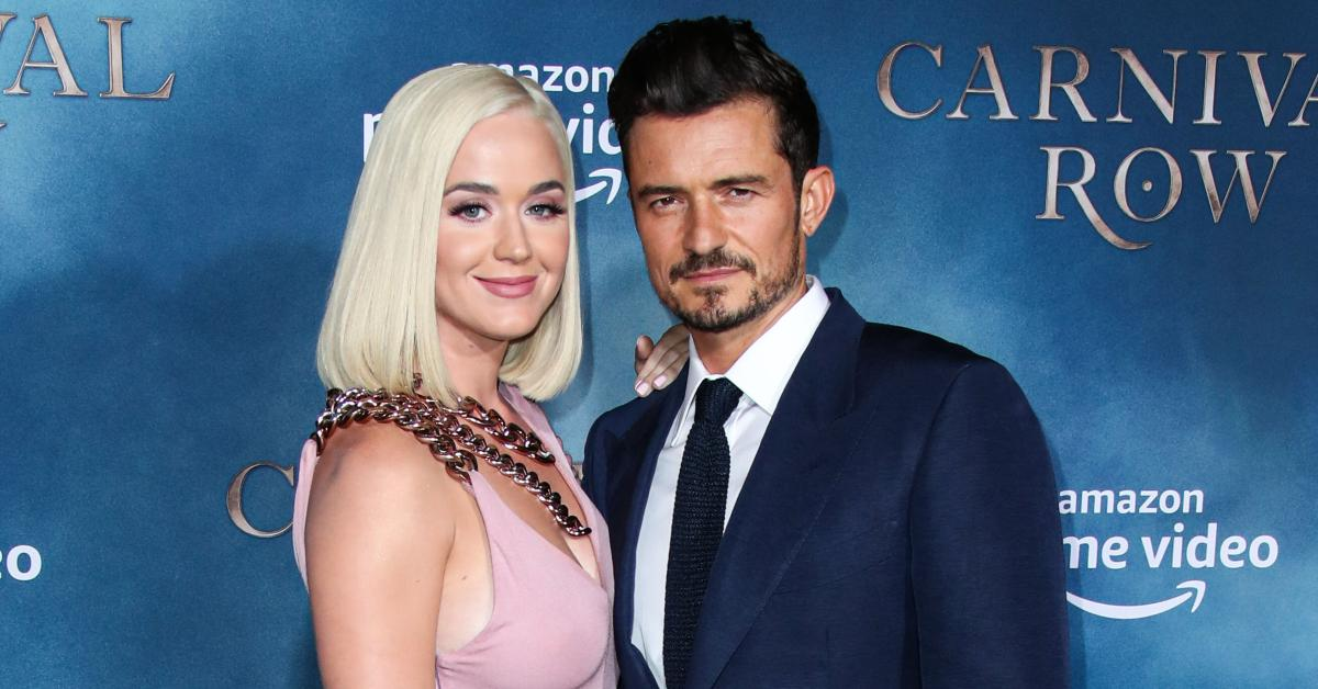Katy Perry & Orlando Bloom Are Planning 'An Intimate Gathering' With A 'Bohemian Feel' For Their 2021 Nuptials, Insider Reveals