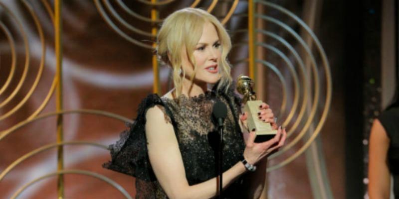 Nicole kidman golden globes speech keith urban pp