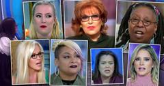 'The View': Hate, Bad-Mouthing And Tempers Over 24 Seasons