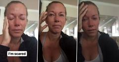Kendra wilkinson sobbing instagram divorce hank baskett