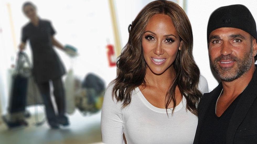 Melissa joe gorga own thousands to cleaning lady housekeeper