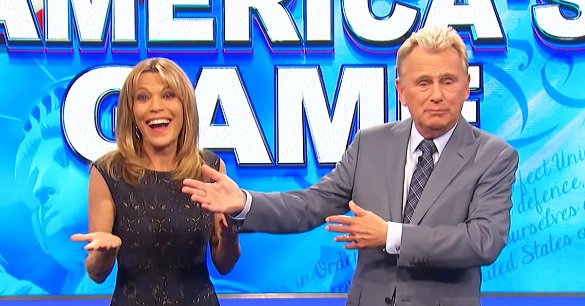 yikes wheel of fortune host pat sajak accidentally gives answer away on air ok