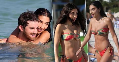 Chantel Jeffries Bikini PDA Loses Top