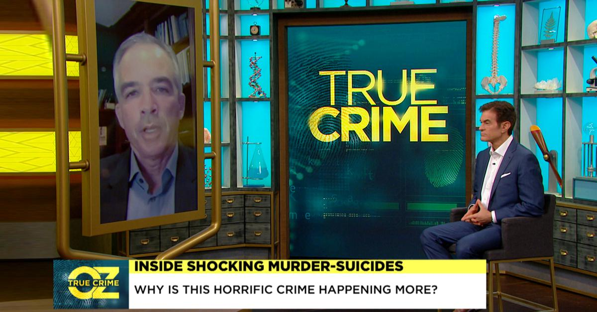 murder suicides rising covid dr oz pf