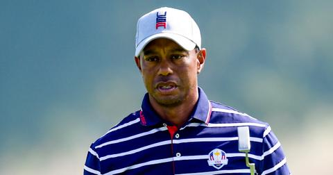 tiger woods car crash falling asleep behind wheel forensic experts