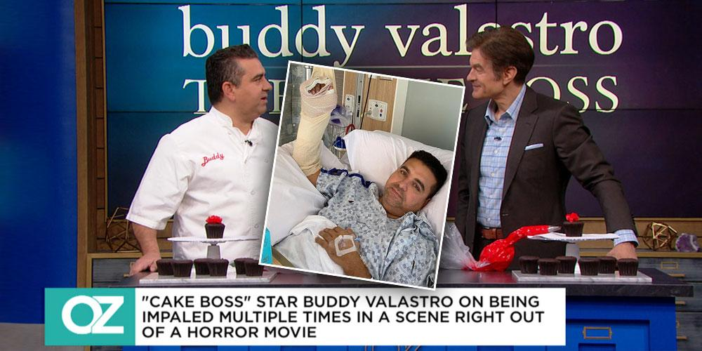 Buddy Valastro Is Determined To 'Train His Hand' After Scary Accident