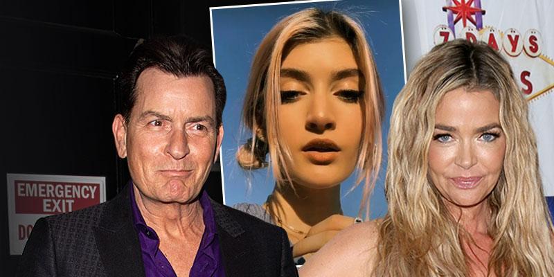 Charlie Sheen & Denise Richards' Daughter Sami Goes Viral On TikTok