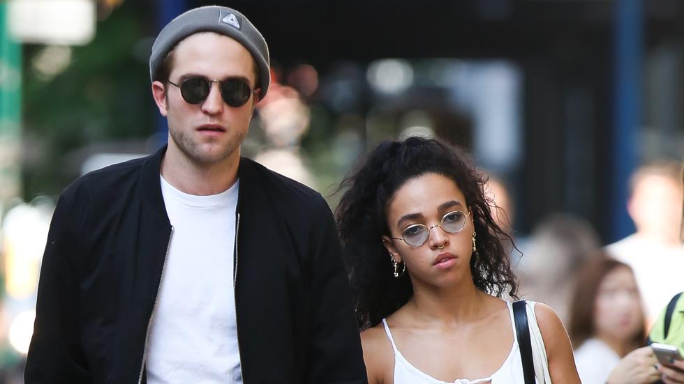 Robert Pattinson and FKA Twigs seen in New York