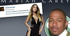 Nick cannon supports mariah carey infinity