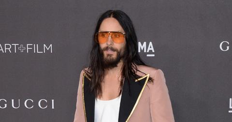 Jared Leto at the Lacma Art and Film Gala