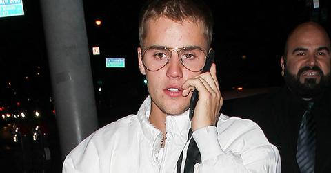 Justin bieber headbutt incident grammy party serafina hr
