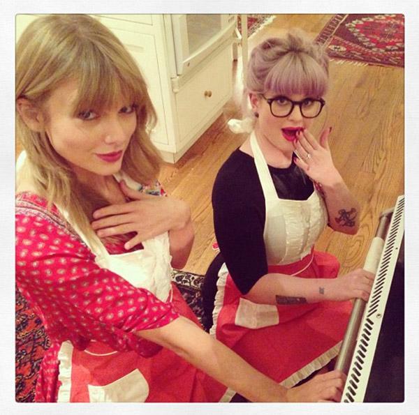 Taylor Swift Kelly Osbourne