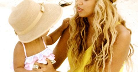 Beyonce blue ivy beach