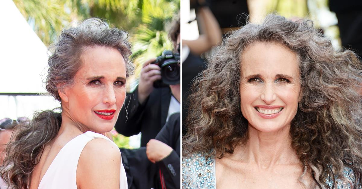 andie macdowell at cannes