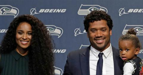 Ciara's Daughter Sienna Cheers On Dad Russell Wilson At His Game