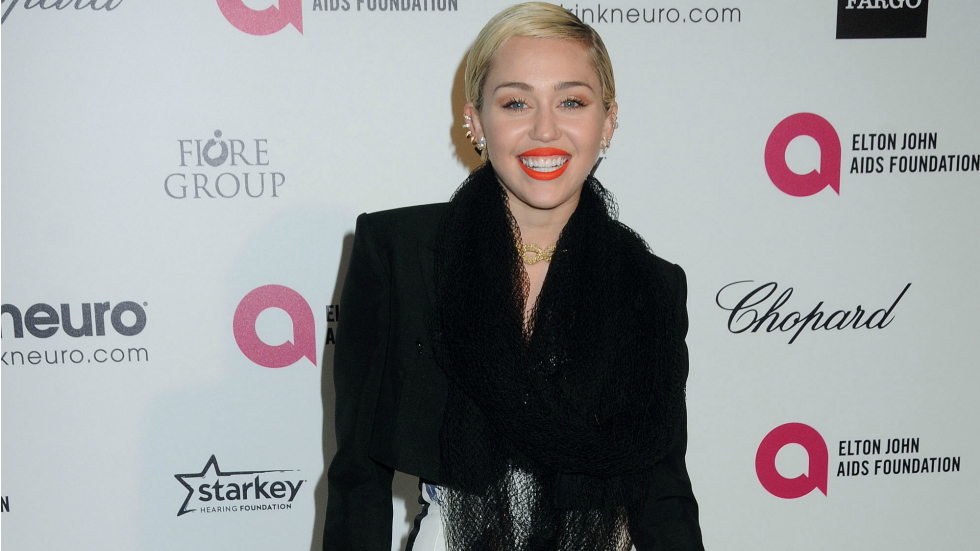 Miley cyrus oscars 2015 afterparty