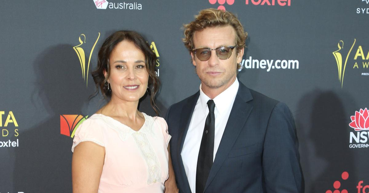 'The Mentalist' Star Simon Baker & Wife Rebecca Rigg Call It Quits After 29 Years Of Marriage