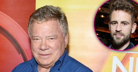 William shatner goes on bizarre twitter rant about nick viall hero